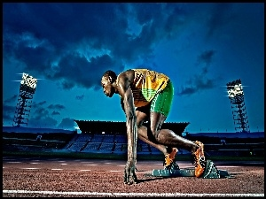 Sprinter, Usain, Bolt