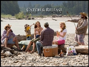 Catch And Release, rzeka, Kevin Smith, ludzie