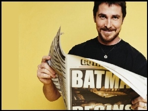 Christian Bale, gazeta