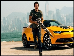 Transformers 4, Camaro SS, Mark Wahlberg, ��ty