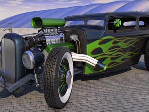 Hot Rod, Ford, Składak