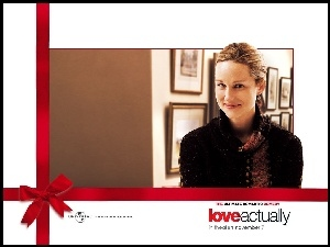 Love Actually, obrazy, Laura Linney, sweter