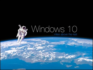Windows 10, Kosmonauta, Kosmos, Ziemia