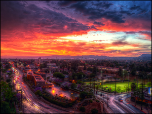 HDR, Los Angeles, Noc, USA, Droga