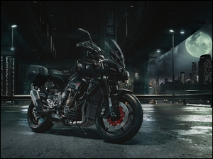 2017, Motocykl, Yamaha MT-10 Tourer Edition