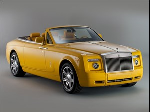 2011, Żółty, Rolls-Royce Phantom Drophead Coupe
