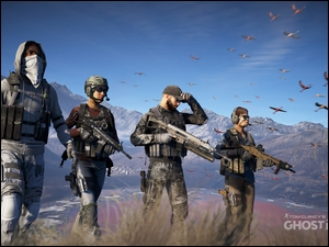 Tom Clancys Ghost Recon : Wildlands, Żołnierze