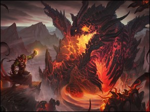 Deathwing, Gra, Postacie, World of Warcraft: Cataclysm, Thrall