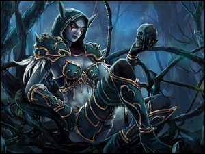 Gra, Sylvanas Windrunner, World of Warcraft, Postać
