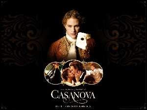 maska, Casanova, Heath Ledger
