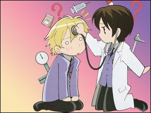 Ouran High School Host Club, doktor, pacjent