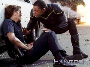 Hancock, policjantka, Will Smith, ranna