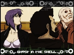 napisy, Ghost In The Shell, ludzie