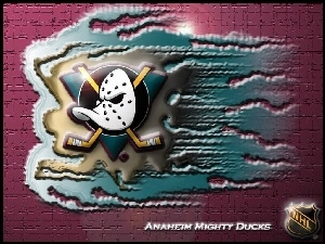 Logo, Anaheim Mighty Ducks, Drużyny, NHL