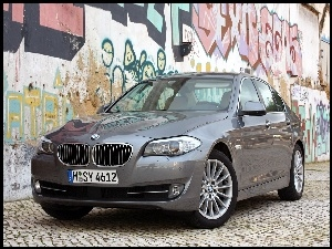 Graffiti, BMW F10, Reflektory