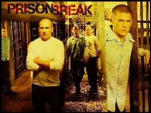Prison Break, więzienie, Wentworth Miller, Dominic Purcell