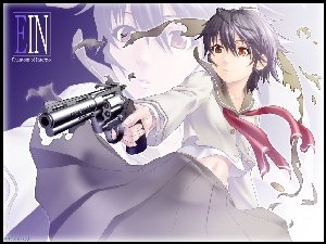 Phantom Of Inferno, pistolet, ein, kobieta