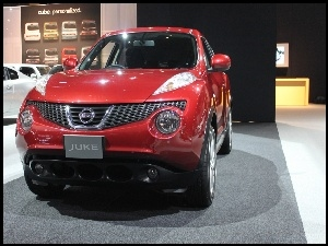 Nissan Juke, Salon