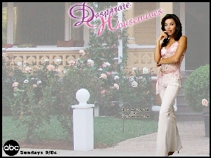 róże, Desperate Housewives, Eva Longoria