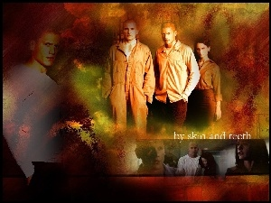 więzień, Prison Break, Wentworth Miller, Robin Tunney, Dominic Purcell