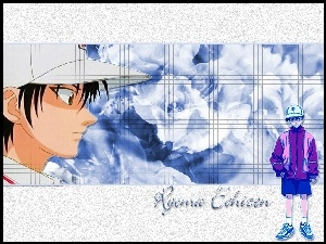 profil twarzy, The Prince Of Tennis, Ryoma Echizen