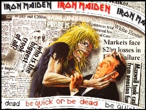 Iron Maiden, Gazeta