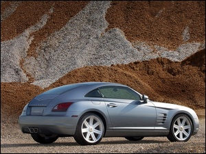 Srebrny, Chrysler Crossfire