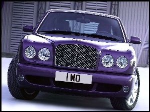 Atrapa, Fioletowy, Bentley Arnage