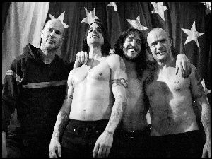 John Frusciante, Chad Smith, Anthony Kiedis