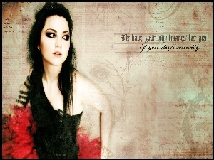 Plakat, Amy Lee, Evanescence