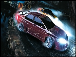 Lancer, Need For Speed Carbon, Mitsubishi