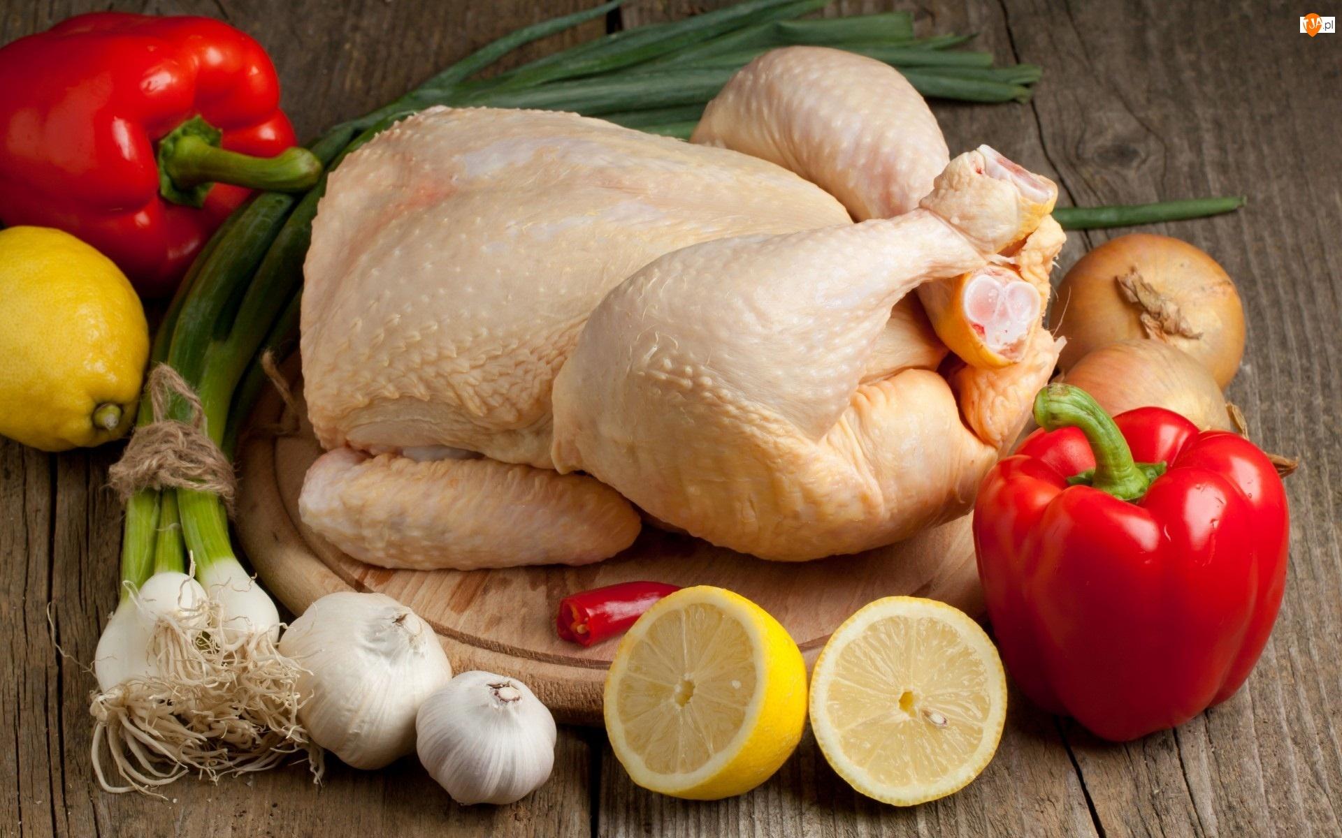 Kurczak, Rosół, Warzywa, Na