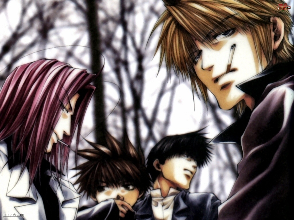 postacie, Saiyuki, las