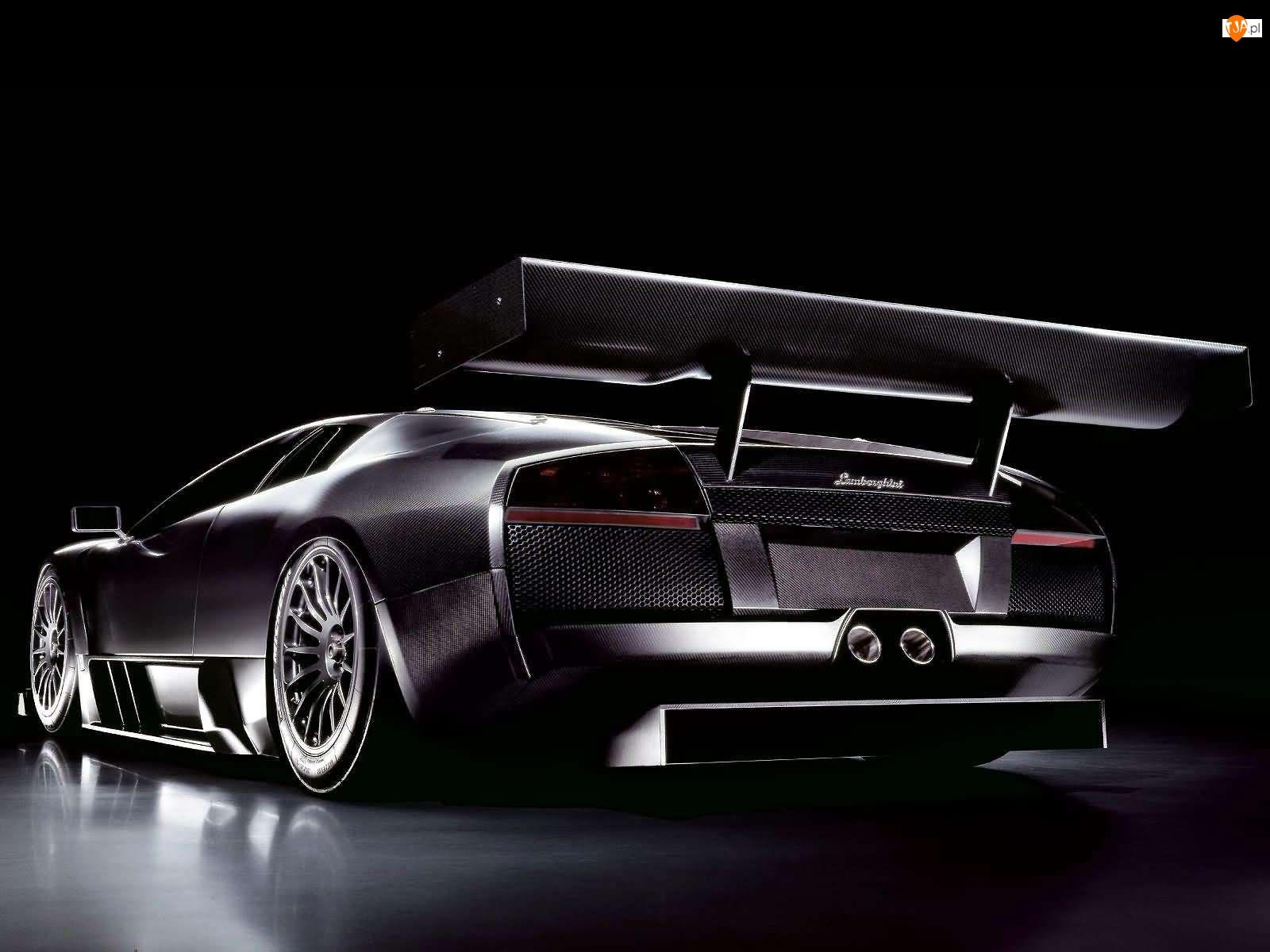 Lamborghini Murcielago, Karbon, Wielki, Spojler