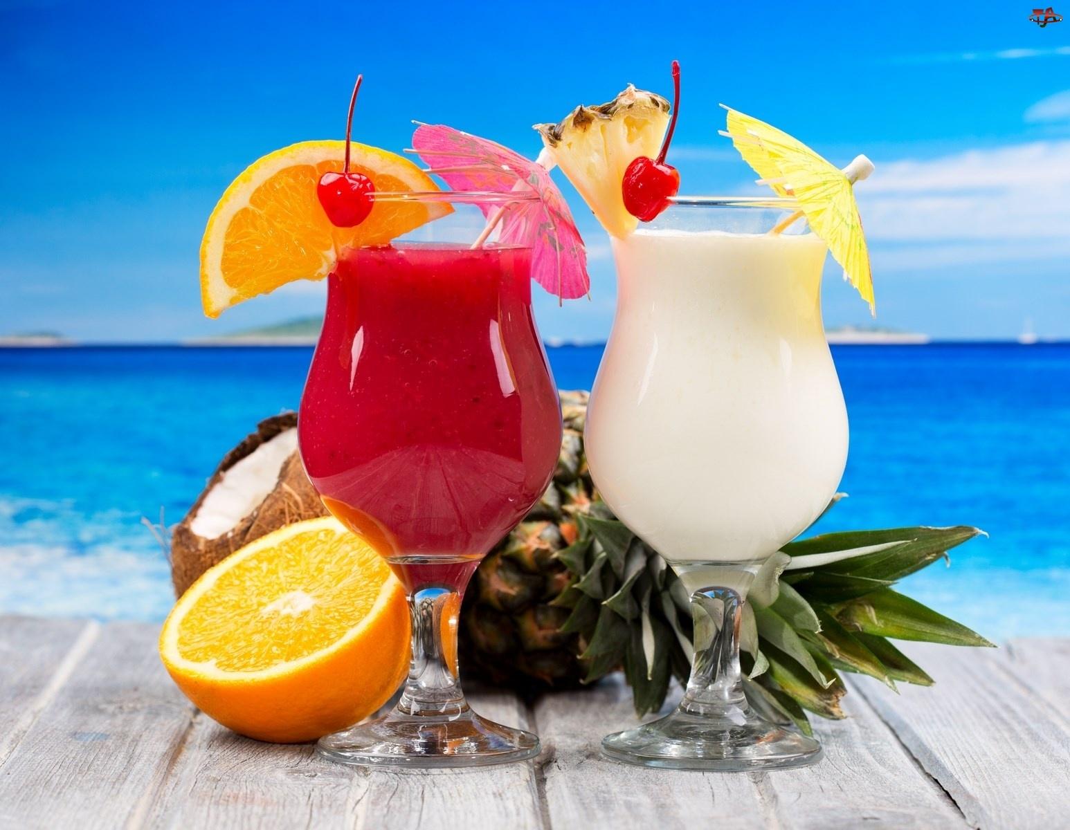 Kolorowe, Drinki