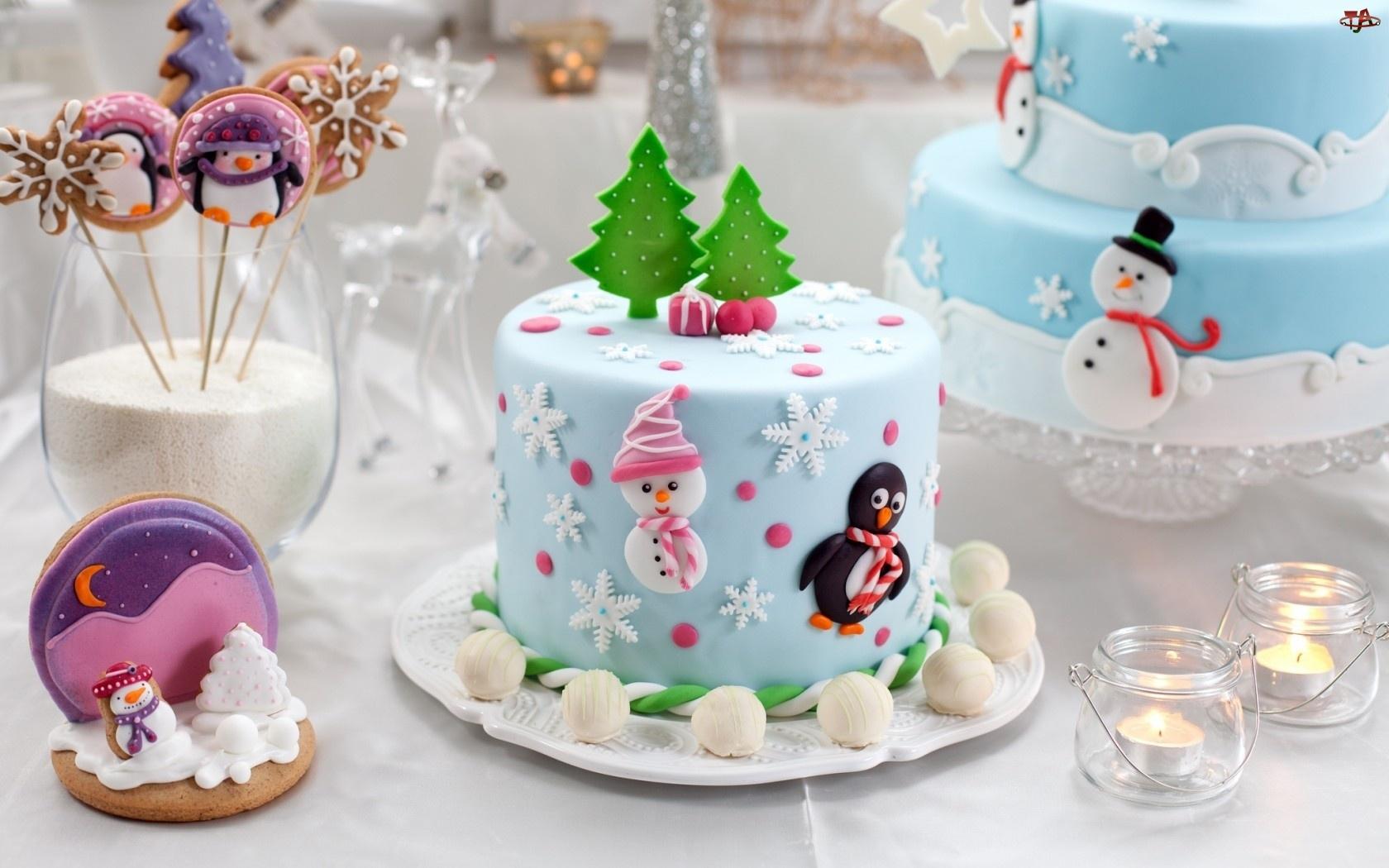 Ciasta, Wypieki, Torty, Świąteczne