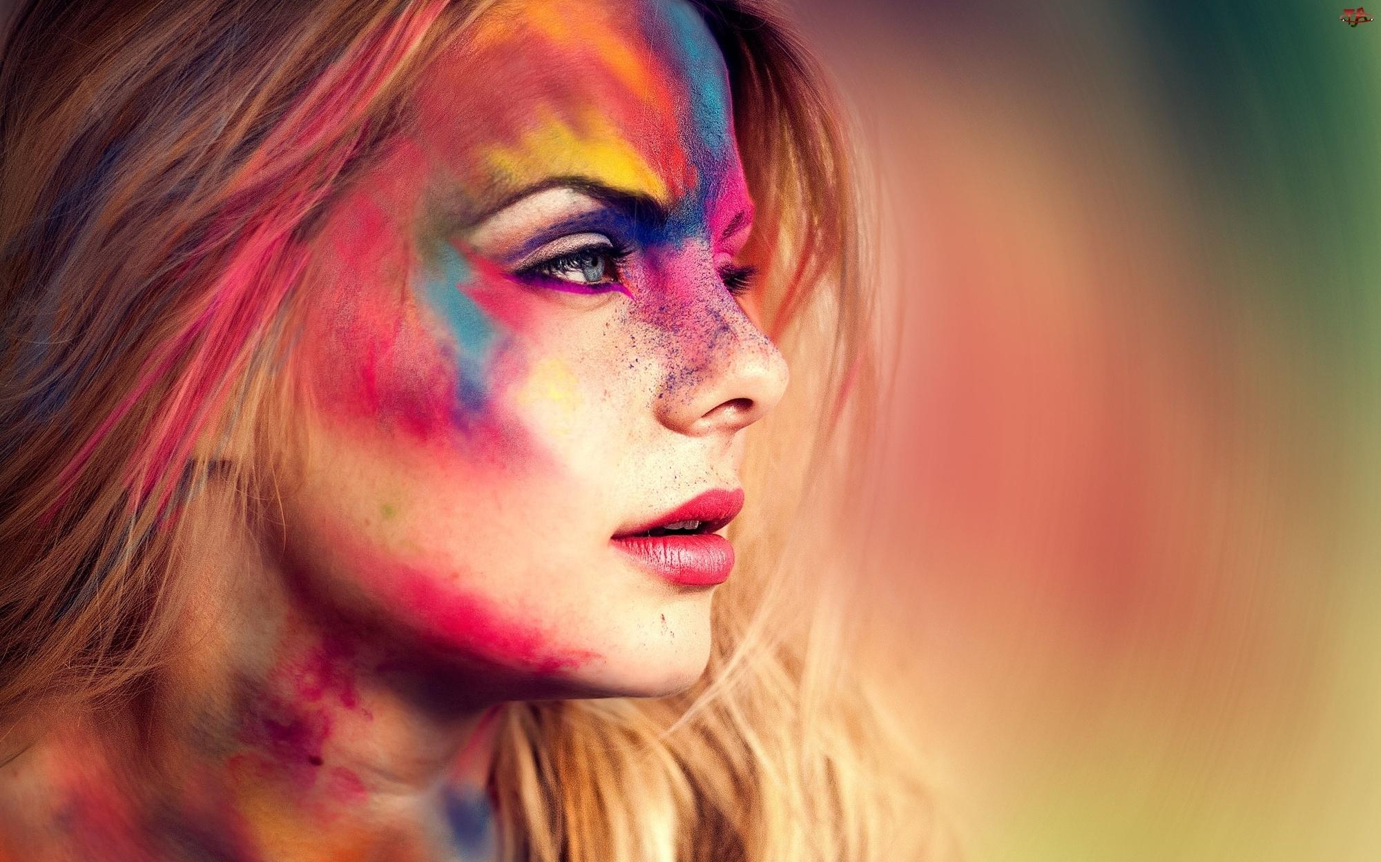 Farby, Kobieta, Blondynka