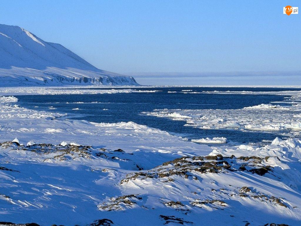 Morze, Zima, Góry