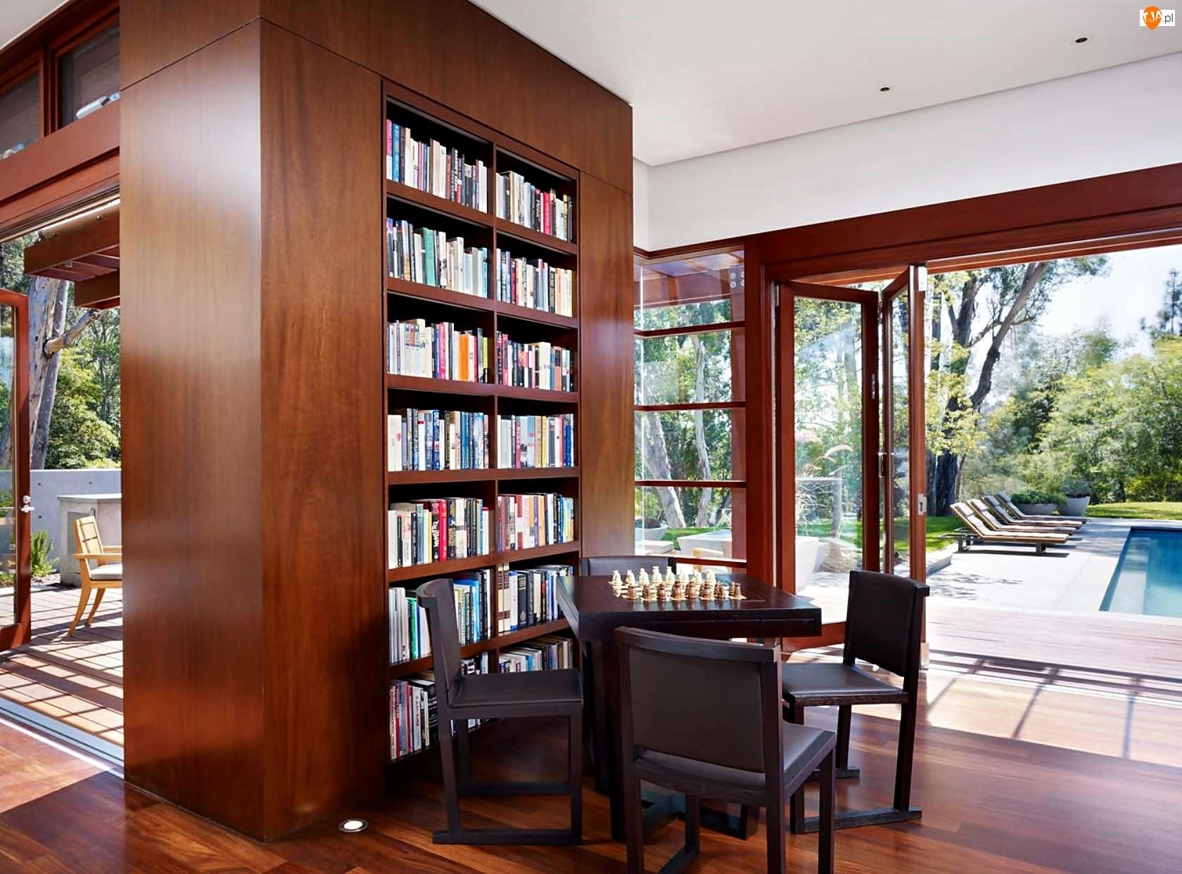 Стильные стеллажи для книг в современном интерьере.