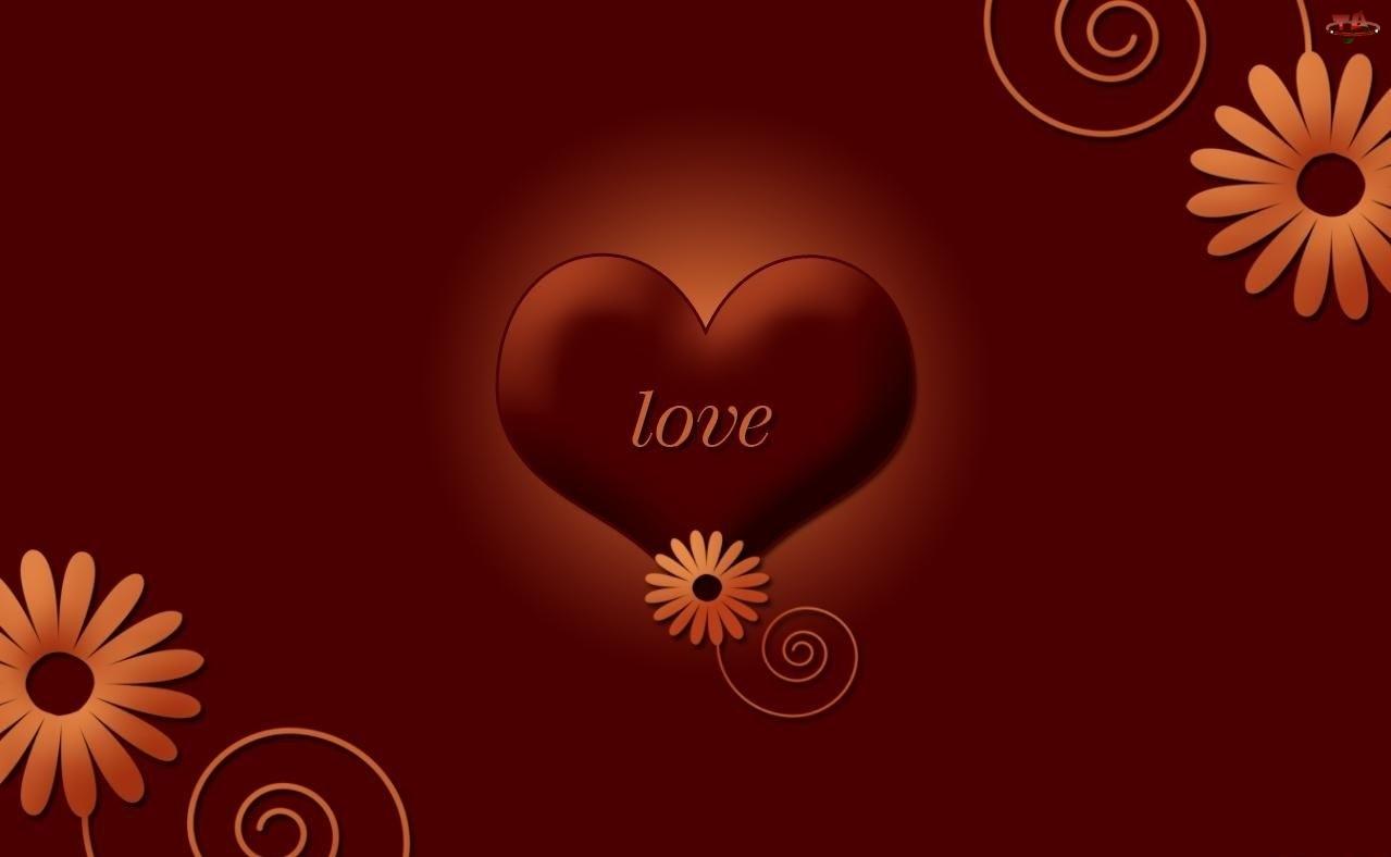 Kwiatki, Serce, Love