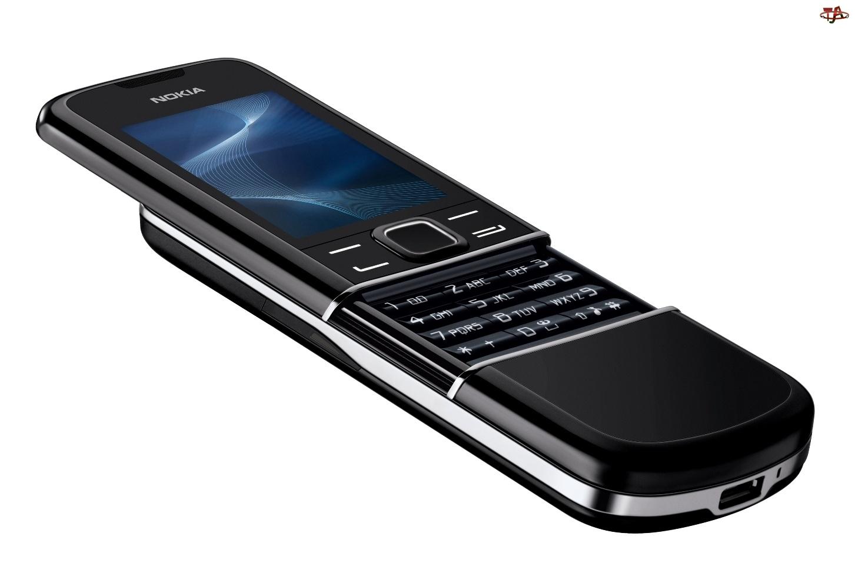 Nokia 8800 Sirocco Edition, Czarny