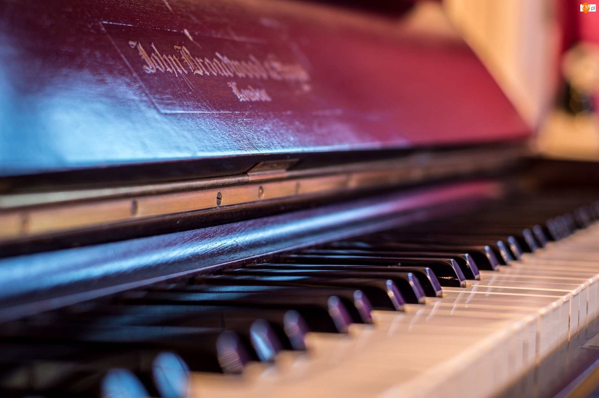 Klawisze, Pianino