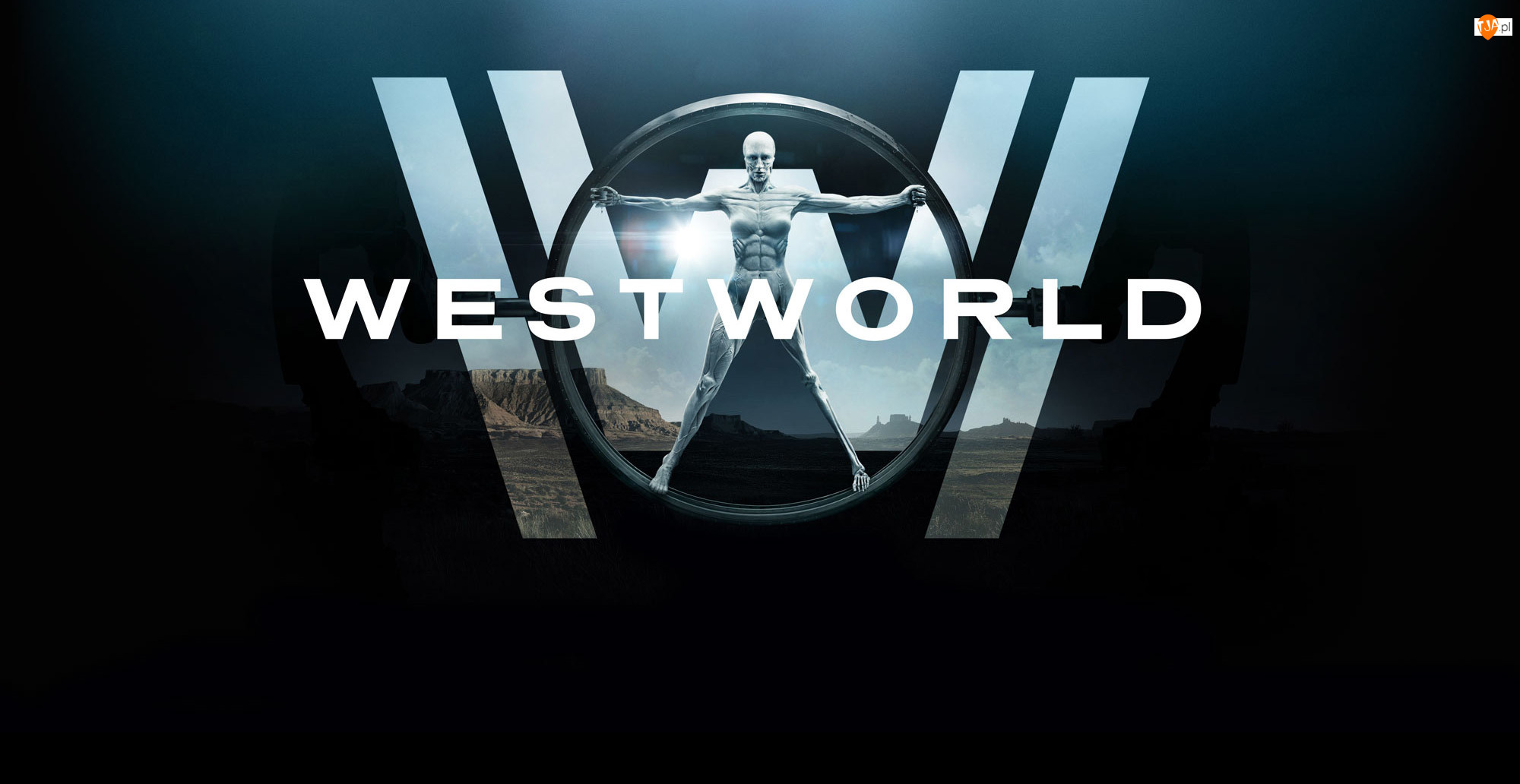 Plakat, Westworld, Serial
