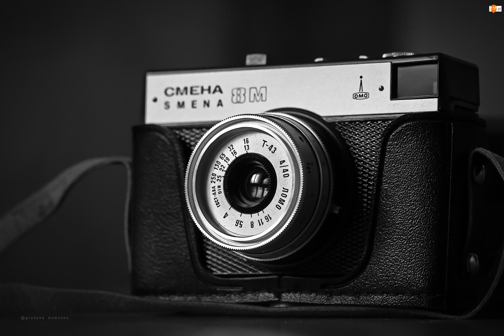 Aparat Fotograficzny, Obiektyw, Smiena, Radziecki