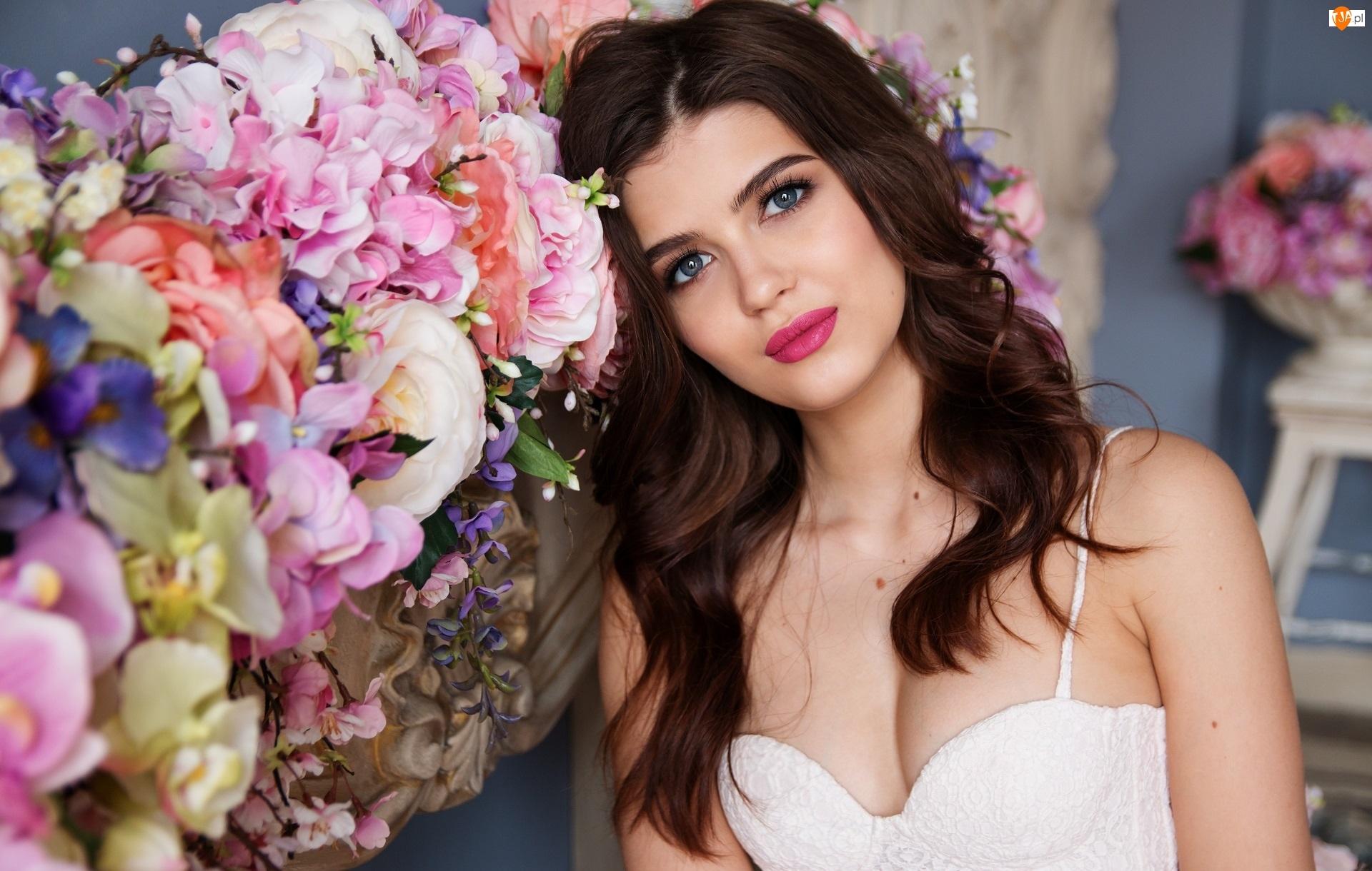 Ślub, Kwiatów, Panna młoda, Bukiety