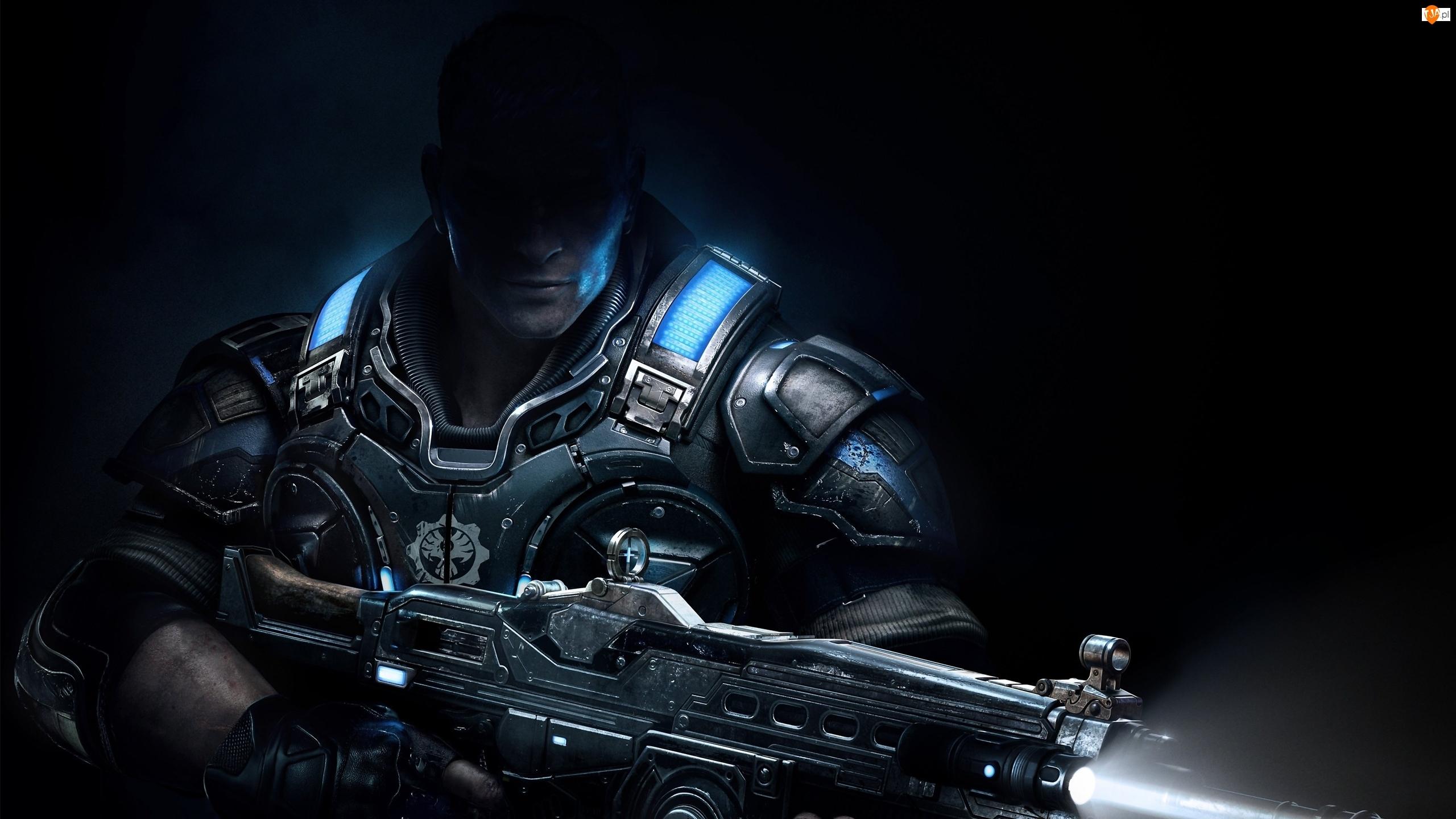 Gears of War, Żołnierz, Gra komputerowa