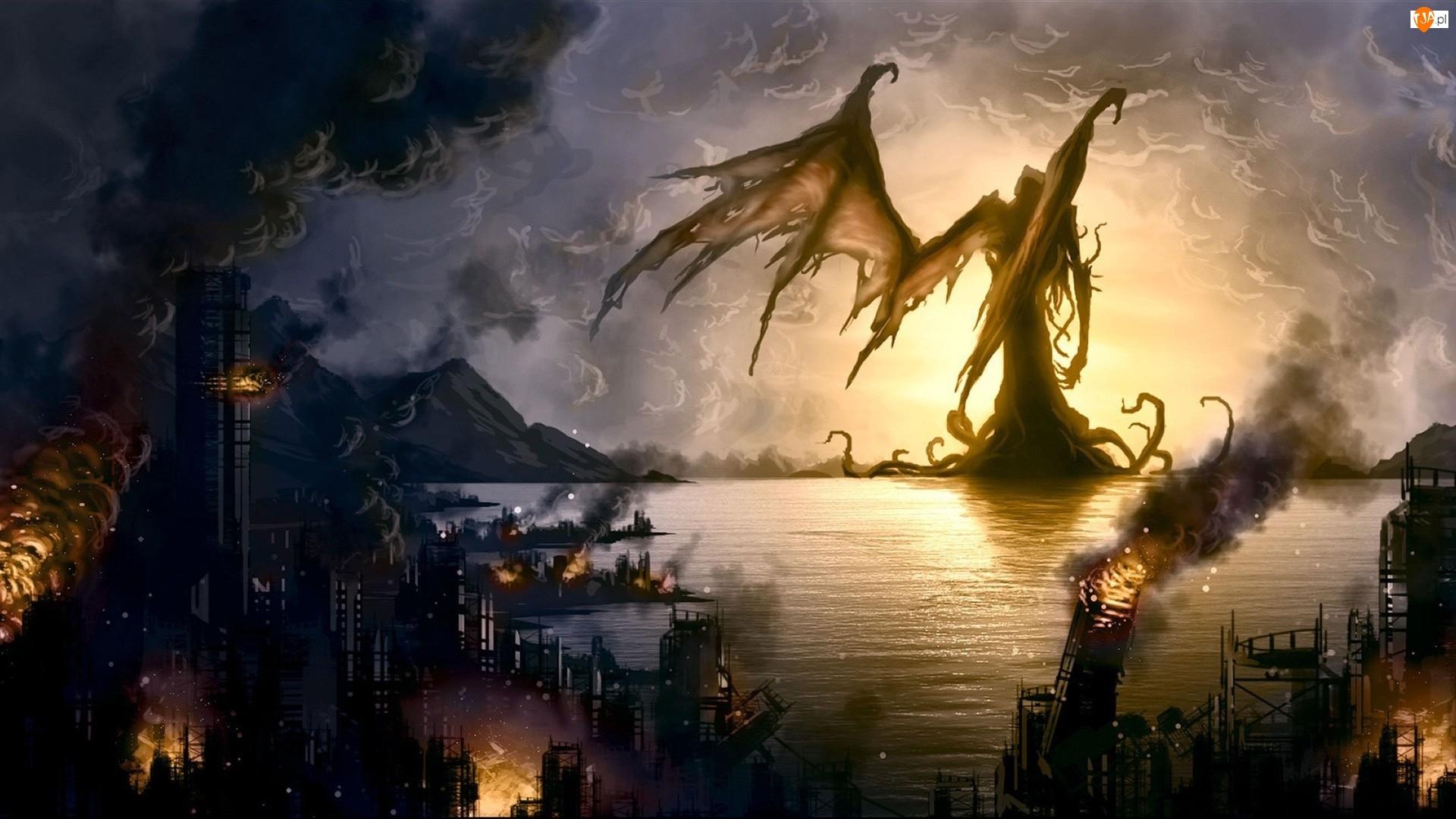Postać, Morze, Gra, Apokalipsa, Call of Cthulhu: Mroczne zakątki świata, Miasto