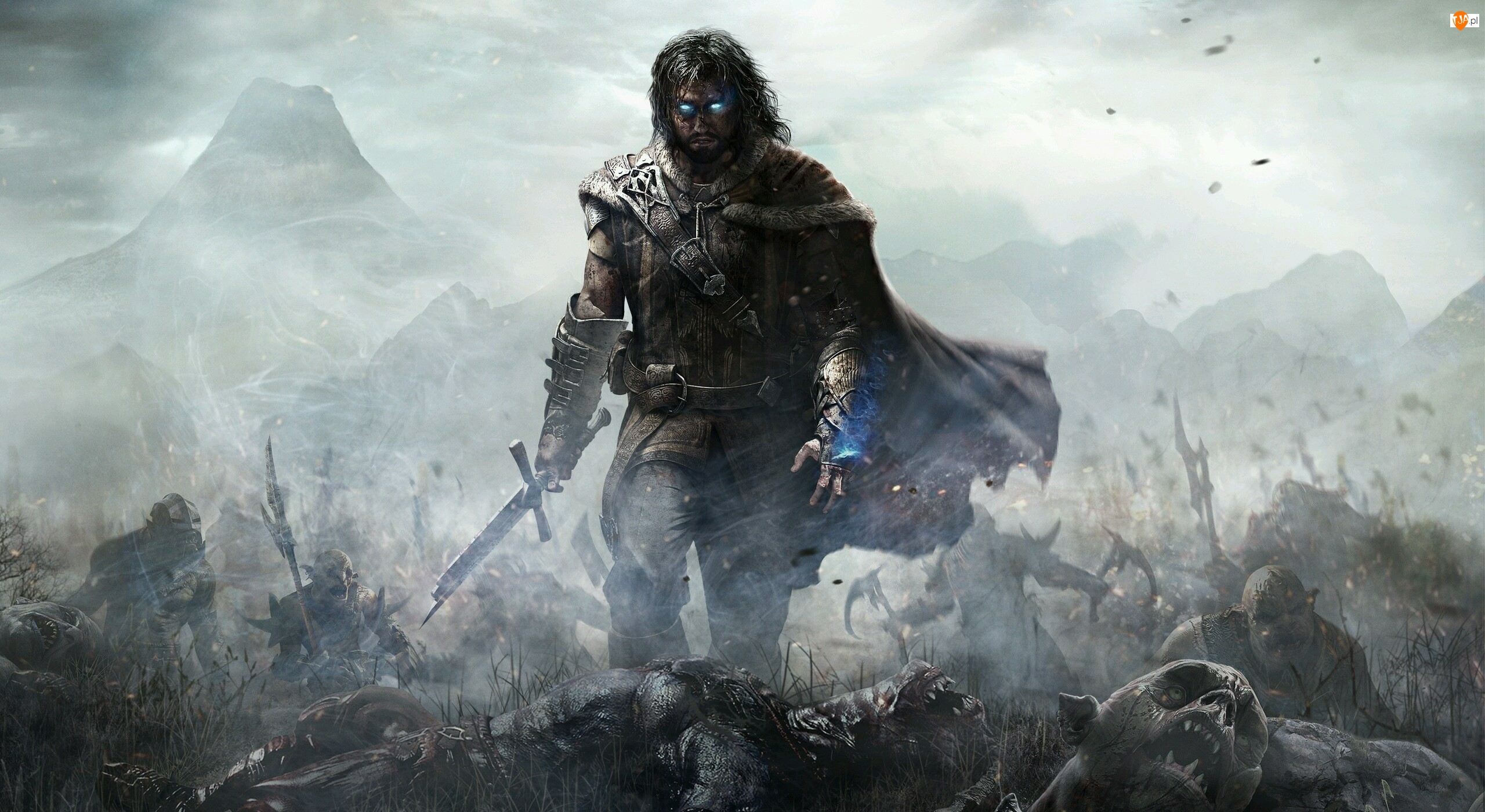 Cień mordoru, Złamany, Middle-earth, Miecz, Shadow of Mordor, Talion