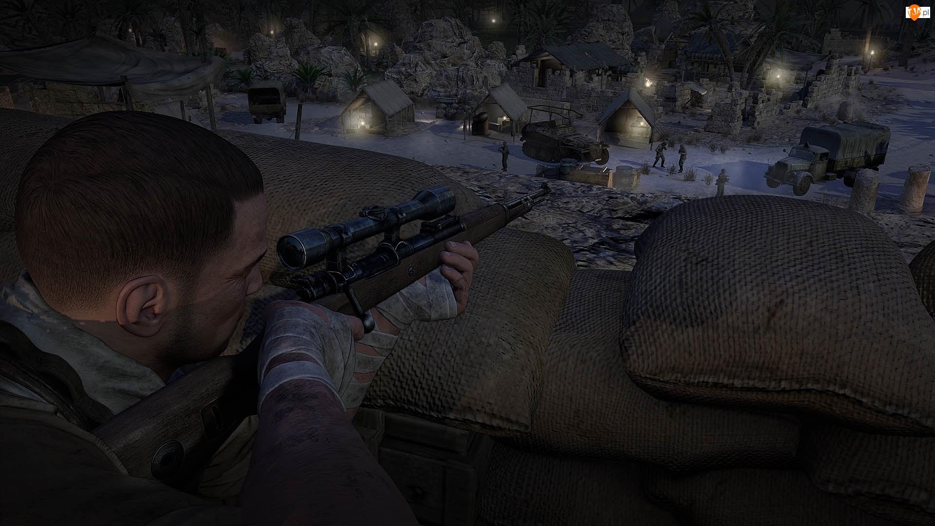 Gra, Snajper, Sniper Elite 3: Afrika, Karl Fairburne