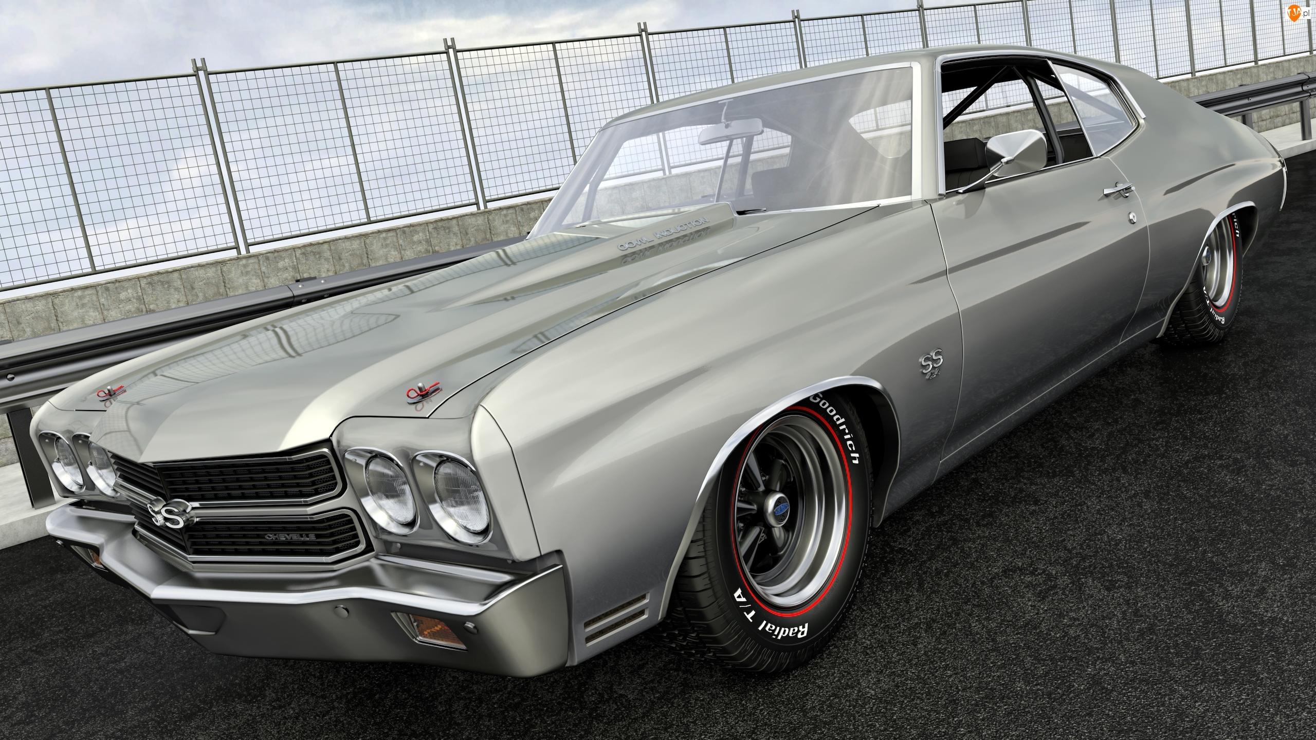 1970, Zabytkowy, Chevrolet Chevelle